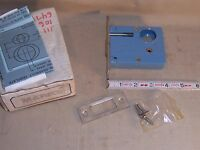 Marx Auxiliary Mortise Deadbolt  Stainless Steel Lock Thumbturn or cylinder