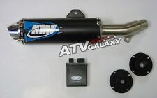 HMF Comp Exhaust Pipe + CDI/ECU Box Kawasaki KFX700 KFX 2004 -2010