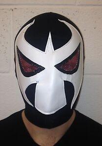 Lucha Libre Mexican Wrestling Mask Classic Bane Fabric Fancy Dress Cartoon Comic