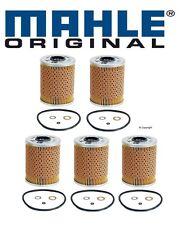 5-oem Mahle Engine Oil Filter BMW E34 525i E36 325i 325is
