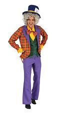 Mad Hatter Alice's Adventure In Wonderland Fancy Dress #Halloween Party Costume