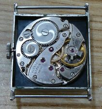 Rare and genuine Ulysse Nardin men's watch, all steel, 60's, in good condition