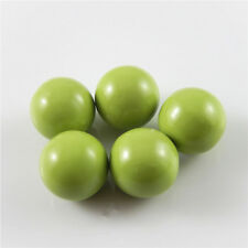 16mm Green Painted Mexican Angel Caller Bells Harmony Ball Pendant Findings 4pcs