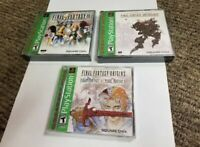 3 playstation 1 games Final Fantasy IX Anthology Origins new lot ps1