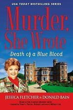 Murder, She Wrote: Death of a Blue Blood-ExLibrary