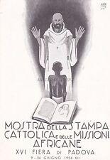 PADOVA - Mostra della Stampa Cattolica delle Missioni Africane - Amen 1934