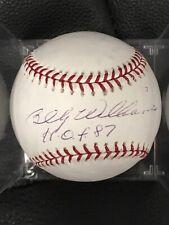 HOFer Billy Williams SIGNED OML Baseball Chicago Cubs  JSA CERTIFIED