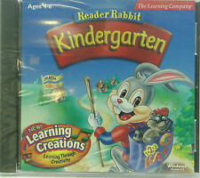 Reader Rabit Kindergarten (age 4-6) by Learning Company Educationl Pc Cd * new