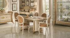 Arredoclassic™ Dining Table 8 Chairs Room Rococo Baroque Art Nouveau