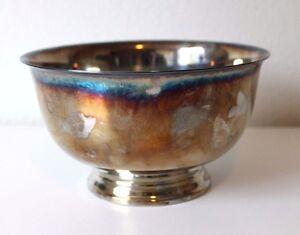 International Silver Webster Wilco 1976 American Bicentennial Silverplate Bowl