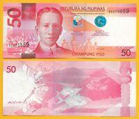 Philippines 50 Piso p-207b 2017 UNC Banknote
