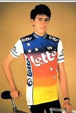 CYCLISME carte cycliste PATRICK ROBEET équipe LOTTO 1988