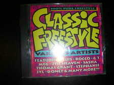"""RARE Freestyle CD """"Classic Freestyle"""" Hot Apple Records Hot Productions 1994"""