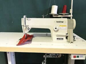 BROTHER INDUSTRIAL SEWING MACHINE SET UP FOR CURTAIN, DENIM AND LIGHT UPHOLSTERY