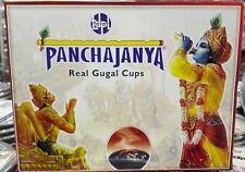 Panchajanya Real Gugal Sambrani Incense Cups (12) for Worship,Meditation Temple