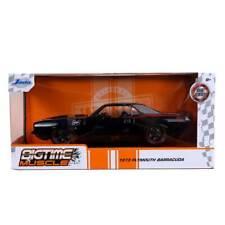 Jada Bigtime Muscle Series: 1973 Plymouth Barracuda (Black) 1/24 Scale