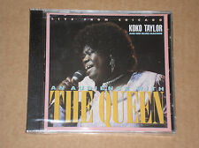 KOKO TAYLOR - LIVE FROM CHICAGO: AN AUDIENCE WITH THE QUEEN - CD NUOVO (SEALED)