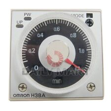 OMRON NEW H3BA-N8H 220VAC MULTIFUNCTIONAL SOLID STATE TIMER RELAY, 8PIN 50/60Hz