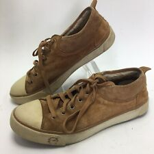 UGG Evera Suede Sneaker Size 8 / 39 Women's Chestnut Sheep Wool Lined
