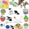 Colorful Funny Cute Creative Pin Kawaii Brooch Jewelry Shirt Collar Enamel Badge