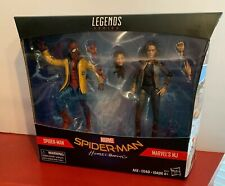 Marvel Legends Spider-Man Homecoming MJ & Peter w/ Yellow Coat