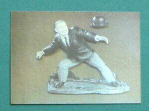 JAMES BOND : GOLDFINGER - ODDJOB HOLOGRAM CHASE CARD # H-1. ECLIPSE 1993 CARDS