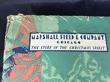Antique Marshall Fields Chicago Department Store Branches Christmas Gift Box