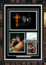 More details for (#435) ac/dc bon scott signed a4 photo//framed (reprint) great gift @@@@@@@@@@
