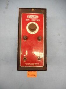 DAYTON, SCR CONTROL, MOTOR DRIVE RPM SPEED CONTROL