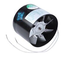 100mm Metal Inline Extractor Fan / Duct Booster / Ducting Pipe Ventilator