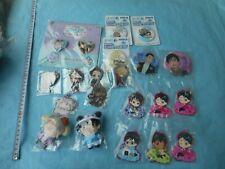 japan anime manga Yuri!!! on Ice PLush toy /Keychain / Strap / Badge set (y1 390