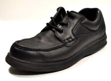Hush Puppies Comfort Curve 18770 Casual Black Oxfords Mens Leather Shoes 10 W