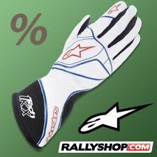 Guantes karting Alpinestars Tech 1-KX 1KX Blanco Racing! oferta POR LIQUIDACIÓN! Stock