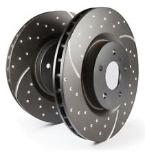 GD7520 EBC Turbo Grooved Brake Discs FRONT (PAIR) fit CHEVROLET Camaro