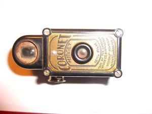 Black Coronet Midget Camera - Bakelite
