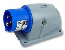MK K9701BLU , INLET, 220/250V, 16A, BLUE, IP44