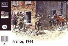 Master Box 3578 France, 1944 ( 2 Horses Included ) Scale Plastic Model Kit 1/35