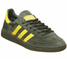 Adidas Handball Spezial Trainers Night Cargo Tribe Yellow Gum Trainers Shoes