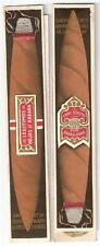 Vintage Unused Cigar Case Holder Package Finos Selectos Para Caballeros Habana