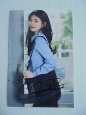 Suzy Bae Miss A 4x6 Photo Korean Actress KPOP autograph signed USA Seller 39