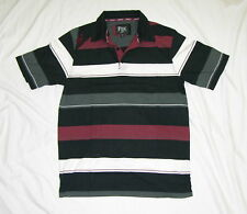 New Fox Mens Beach Surfing Summer Polo Shirt - Stripes - Size S