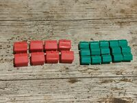 MONOPOLY SPARE HOUSES AND HOTELS FREE P&P