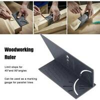 3D Woodworking Ruler Mitre Angle Measuring Gauge Square Measure Tool US Hot