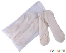 5 waschbare Damenbinden Slipeinlagen Frottee Soft  Stoffbinden  POPOLINI NEU