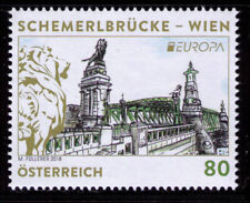2018 Austria Europa CEPT MNH Bridges