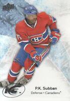 2011-12 Upper Deck Ice Hockey #11 P.K. Subban Montreal Canadiens