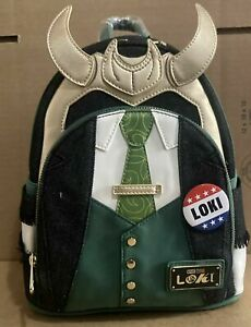 Loungefly 2021 NYCC President Loki  Cosplay Mini Backpack IN HAND! SHIPS NOW! ✅