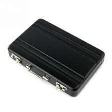 New Metal Business ID Credit Card Holder Mini Suitcase Bank Card Holder Box Case