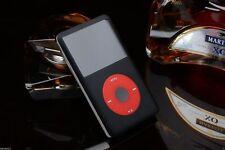 U2 Custom 1900mAh Battery SSD 256GB iPod Classic 7th Gen Black Red 160GB Player