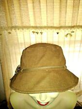 BLOW OUT SAL @ NINE WEST Canvas Rain Bonnet Bucket Beanie Fedora Cap Hat ❤️ts17j